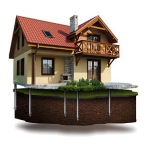 Фундамент под каркасные дома